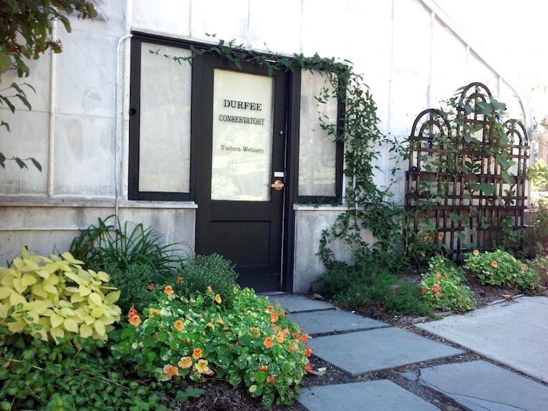 Durfee Conservatory Door K. Carroll